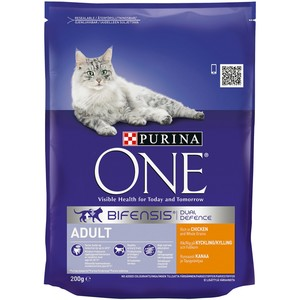 PURINA ONE Adult Cat Chicken and Whole Grains 200g
