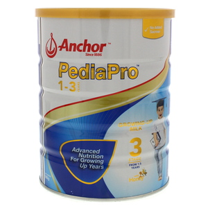 Anchor Pedia Pro Growing Up Milk Stage 3 From 1-3 Years 900g