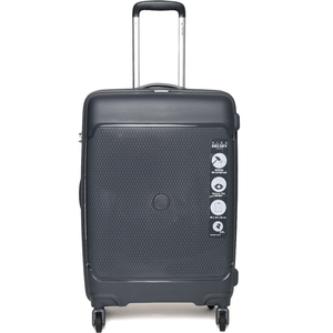 Delsey Sejour 4 Wheel Hard Trolley 66cm Grey