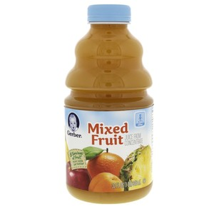 Gerber Mixed Fruit Juice From Concentrate 946ml