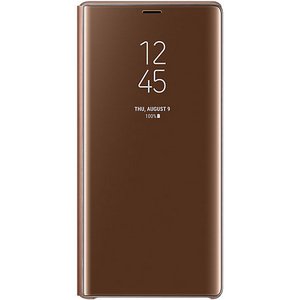 Samsug Note9 Clear View Standing Cover EF-ZN960CVEGWW Brown