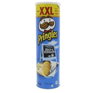 Pringles Salt And Vinegar Flavoured chips XXL 200g