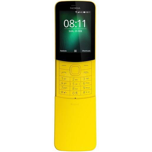 Buy Nokia 8110 4G Yellow - Featured Phones - Lulu Webstore OMAN