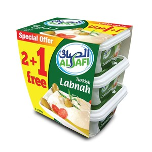 Al Safi Turkish Labneh 180g x 3pcs