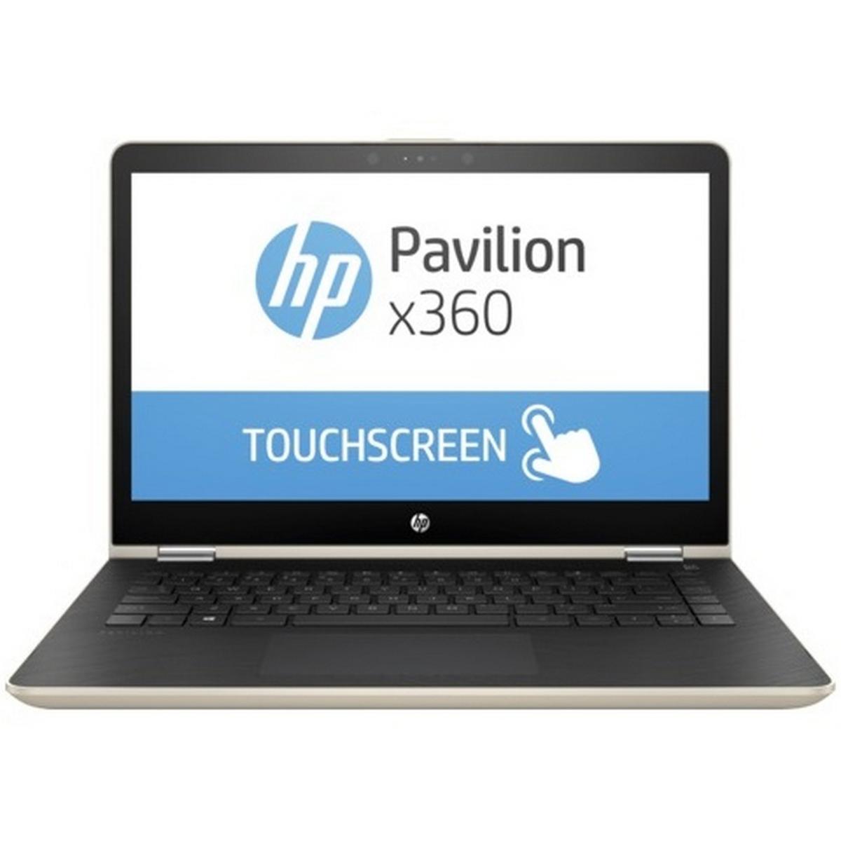 HP Pavillion X360 Convertible Notebook 14ba002ne Core i3 Gold