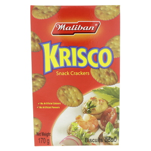 Maliban Krisco Snack Crackers 170g