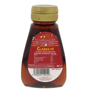 Clarks Maple Syrup Original 180 ml
