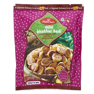 Haldiram's Mini Bhakhar Badi Spicy And Crispy Roll Stuffed With Wheat And Chickpeas Flour 200g