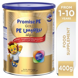 Wyeth Nutrition Promise PE Gold 1-10 Years Premium Milk Powder For Kids 400g