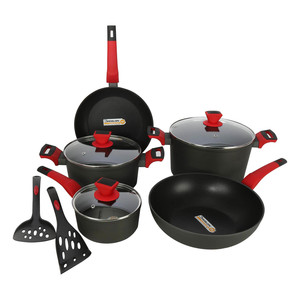Chefline Die Cast Cookware Set 10pcs AK10