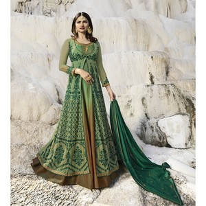 Semi Stitched Women's Gown Suit Vinay Kaseesh Supreme 8526