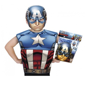Avengers Captian America Party Costume 620969 Size 3-6Y
