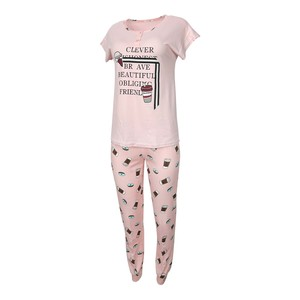 Eten Women's Pyjama Set Short Sleeve DJ-831