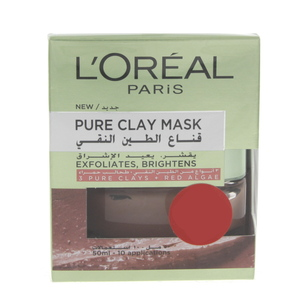 Loreal Pure Clay + Red Algae Mask 50ml