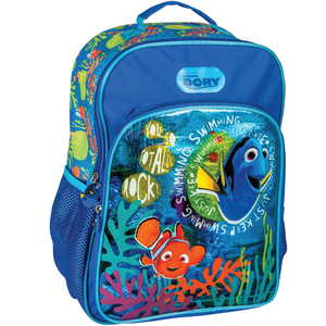 Character Kids School Back Pack Assorted