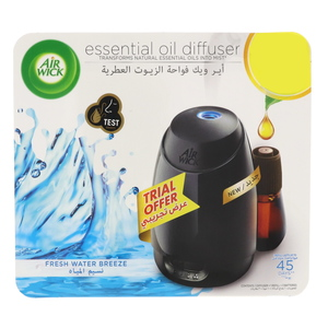Air Wick Essential Oil Diffuser Fresh Water Breeze 20ml