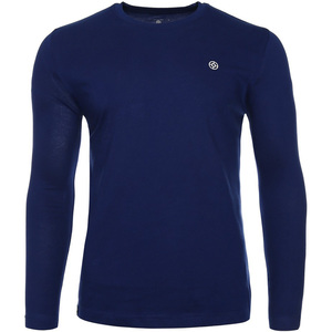 John Louis Men's Round-Neck T-Shirt Long Sleeve Navy