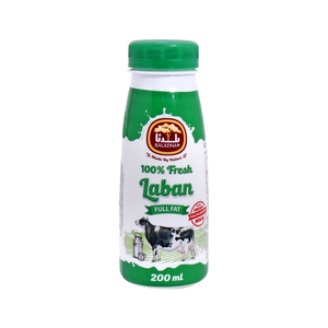 Baladna 100% Fresh Laban Full Fat 200ml