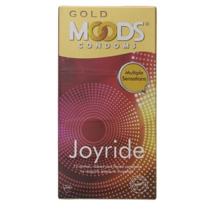 Moods Gold Condoms Joyride 12pcs