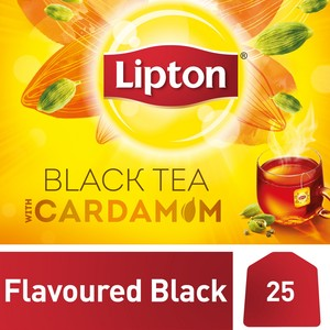 Lipton Yellow Label Black Tea with Cardamon 25 Teabags