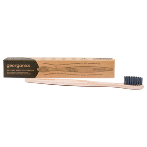 Georganics Natural Beech Toothbrush Soft 1pc