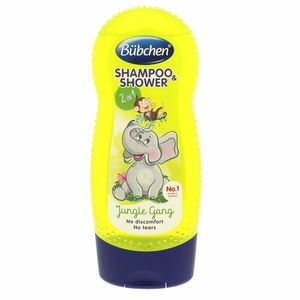 Bubchen Jungle Gang Shampoo And Shower 230ml