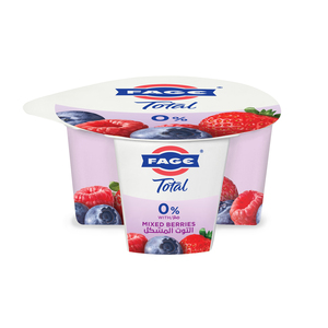 Fage Total 0% Fat Free Yoghurt With Mixed Berries 170g