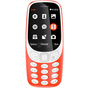 Nokia Featured Phone 3310 Red