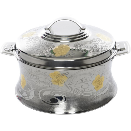 Chefline Stainless Steel Hot Pot Shahnaz Gold 3500ml