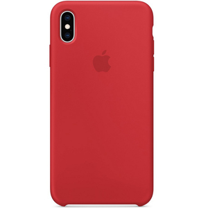 Apple iPhone XS Max Silicone Case (PRODUCT)RED