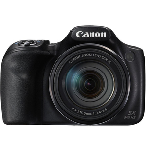 Canon PowerShot Digital Camera SX540 20.3MP Black
