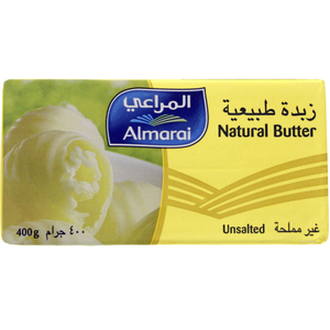 Almarai Natural Butter Unsalted 400g