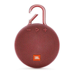 JBL Portable Bluetooth speaker Clip3 Red