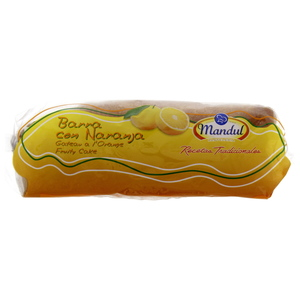 Mandul Barna Con Naranja Fruity Cake Orange 350g