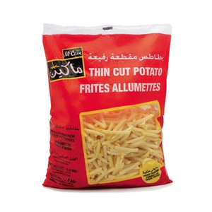 Mccain Thin Cut Potato Fries 2.5kg