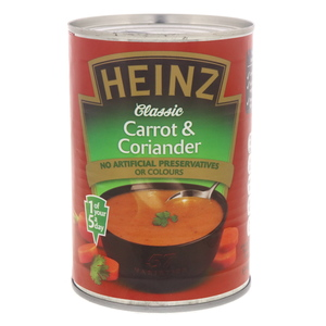 Heinz Classic Carrot And Coriander Soup 400g