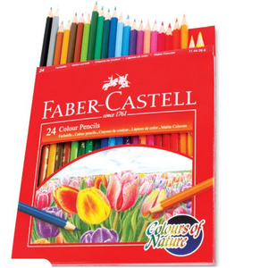 Faber-Castell Color Pencil 24Piece