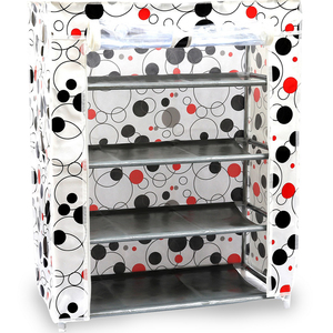 Shoe Rack 4 Layer Assorted