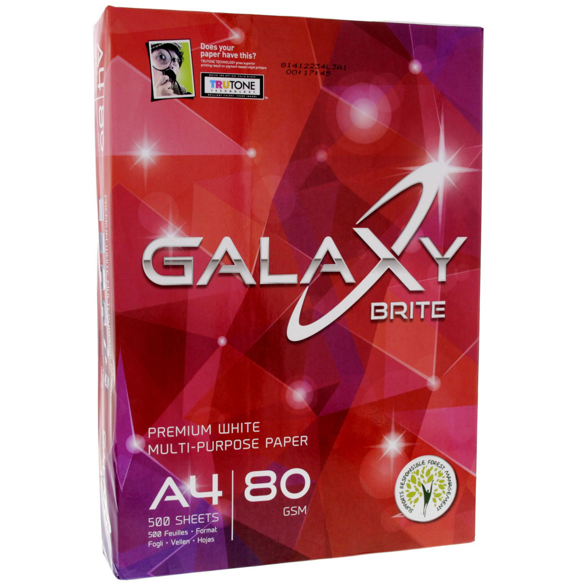 Buy Galaxy Multi-Purpose Paper White A4 500 Sheet - Computer