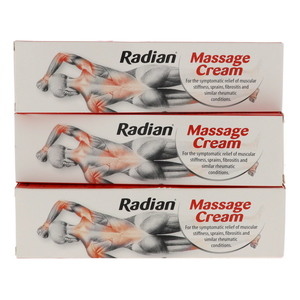 Radian Massage Cream 3 x 100g