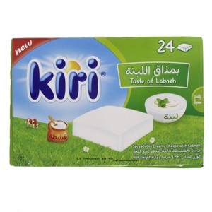 Kiri Spreadable Creamy Cheese With Labneh 432g