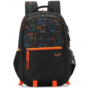 Skybags School Back Pack Figo Plus FIGP7 Black 19inch