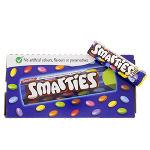 Nestle Smarties Chocolate 38g Hexatube