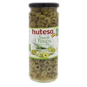 Hutesa Spanish Olives Sliced Green 230g