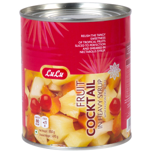 Lulu Fruit Cocktail in Heavy Syrup 850g