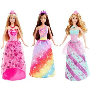 Barbie Princess Fashion Doll Assorted Styles - 1Piece