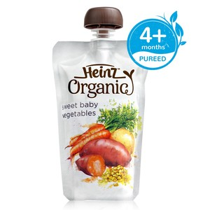 Heinz Organic Baby Food Sweet Baby Vegetables 120g