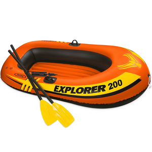Intex Boat Explorer200 Set 58331 (Color may vary)