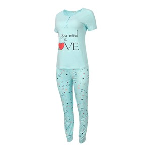 Eten Women's Pyjama Set Short Sleeve DJ-843