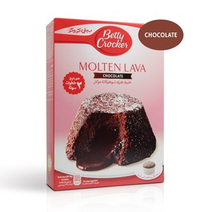 Betty Crocker Molten Lava Cake Mix Chocolate 400 Gm